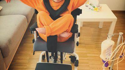 Nouvelle chaise de thérapie !